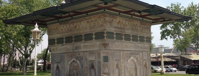 Tophane Çeşmesi is one of Gezelim Görelim Eski İstanbul.