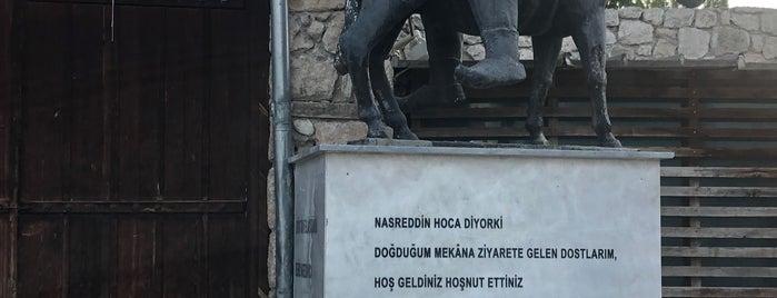Nasreddin Hoca Evi is one of Eskişehir İlçeleri Gezilececek\Yenilecek Yerler.