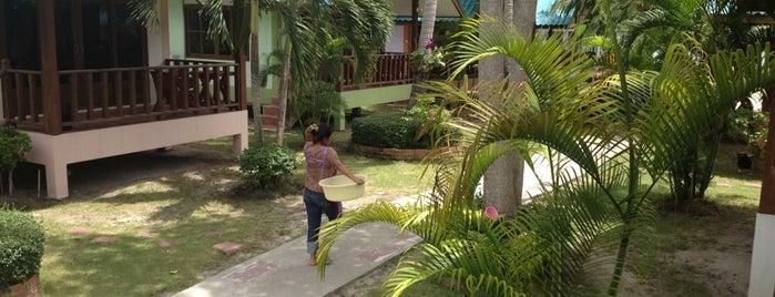 Phangan Great Bay Resort is one of Tempat yang Disukai Una.