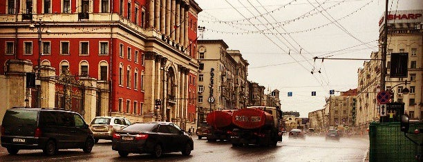 Tverskaya Street is one of Lieux qui ont plu à Matthew.