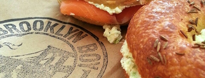 Brooklyn Boy Bagels is one of Brunch Attack.
