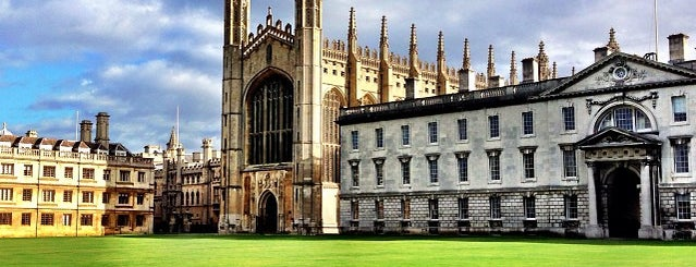 King's College is one of Cambridge.