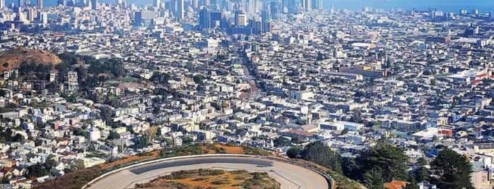 Twin Peaks is one of SF 49 Mile Makeover.