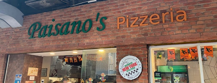 Paisano's Pizzeria is one of Hong Kong.