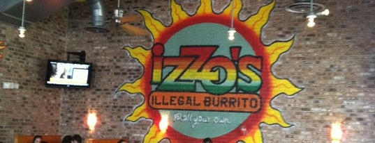 Izzo's Illegal Burrito is one of Victor : понравившиеся места.