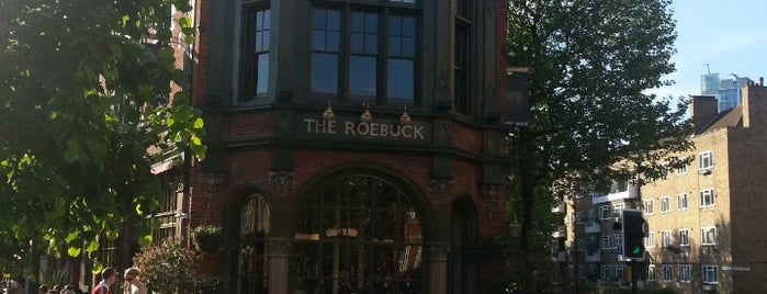The Roebuck is one of London ••Spottet••.