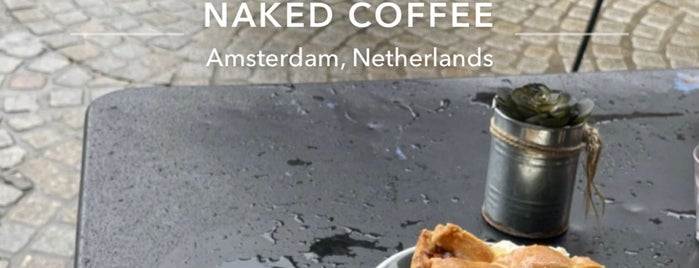 Naked Coffee is one of Amsterdam Best: Food & drinks.