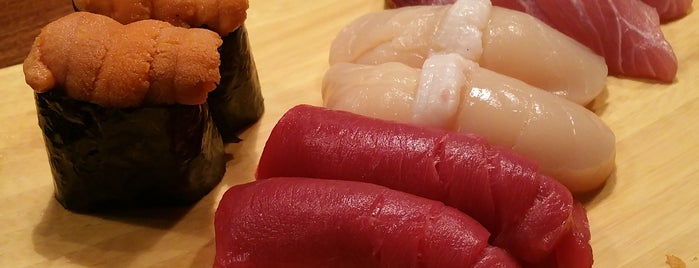 Ryoko's Japanese Restaurant & Bar is one of 25 Top Sushi Spots in the U.S..
