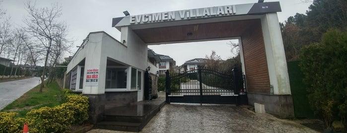 Evcimen villaları is one of Halil'in Beğendiği Mekanlar.