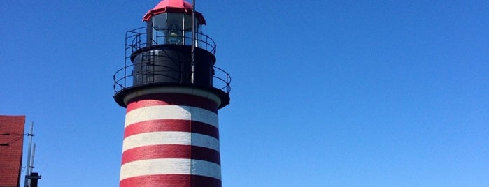 West Quoddy Head Lighthouse is one of Maine.