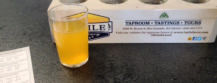 7 Mile Brewery is one of New Jersey Breweries.
