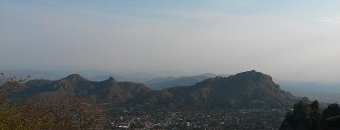 El Cerro del Tepozteco is one of Pueblos Mágicos.