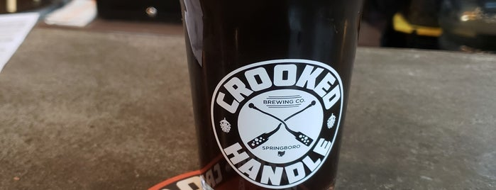 Crooked Handle Brewing Co. is one of Posti salvati di Tom.