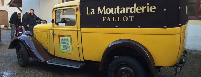 Moutarderie Fallot is one of France Road Trip.
