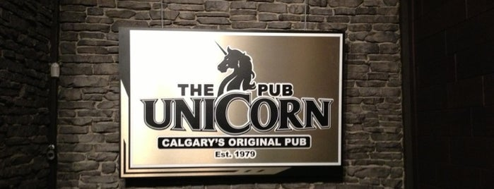 The Unicorn Pub is one of Calgary to do.