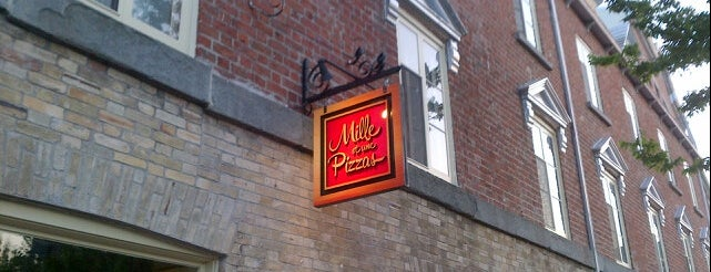 Mille et une pizzas is one of QC.