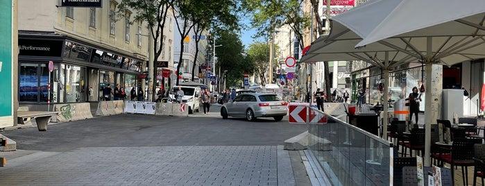 Neubau is one of Vienna, Austria.