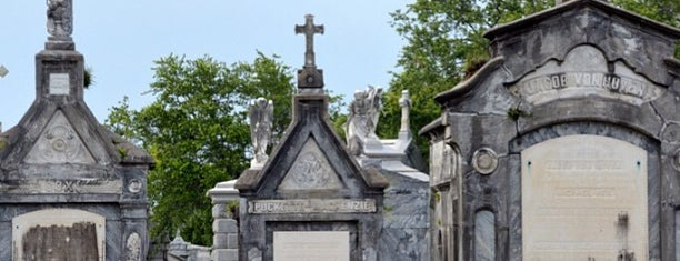 Metairie Cemetery is one of Historian 2.