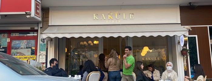 Kakule Fırın is one of Tatlı kahvaltı kavaklıdere tunalı.