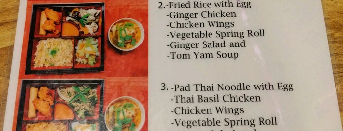 Wah Ha Ha Thai Restaurant is one of G A I N E S V I L L E.