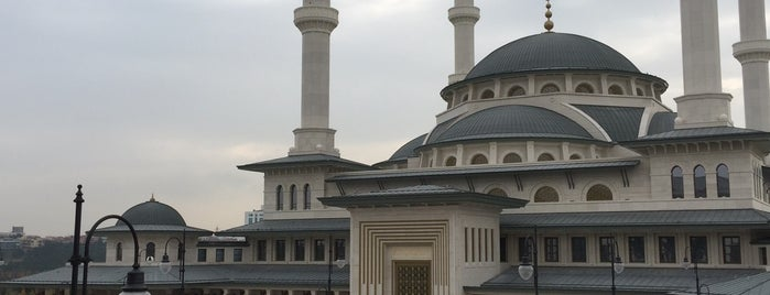 Beştepe Millet Camii is one of Lugares favoritos de Samet.