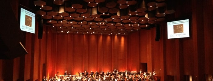 Houston Symphony is one of Lieux qui ont plu à Andres.