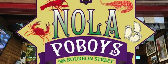 NOLA Poboys is one of NOLA Must Do's.