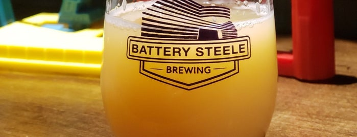 Battery Steele Brewing is one of Portland Breweries.