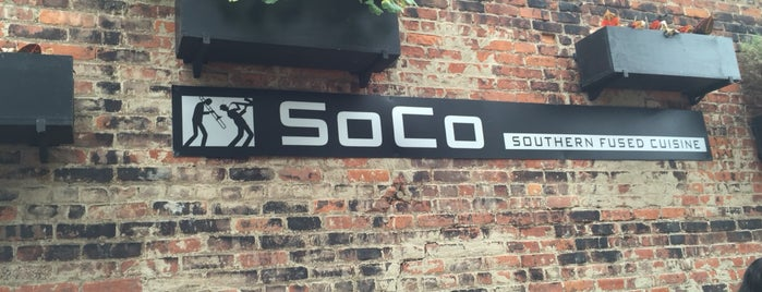 Soco is one of Chayさんのお気に入りスポット.