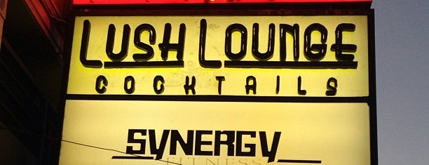 Lush Lounge is one of SF Bars.