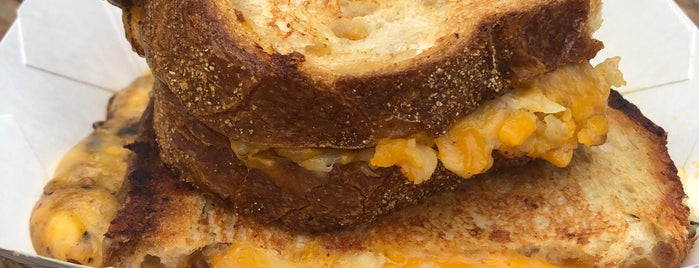 The Grilled Cheese Truck is one of Austin.