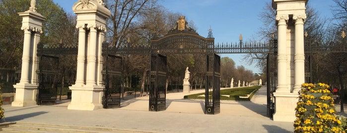 Puerta de la Independencia de los Jardines del Buen Retiro is one of Madrid.