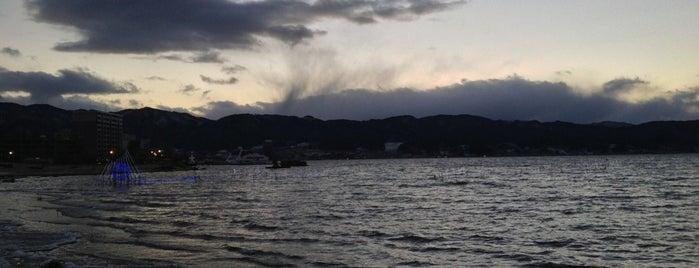 諏訪湖畔 is one of 諏訪湖ポタ♪.