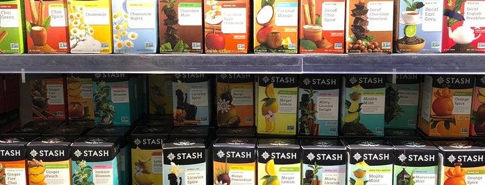 Stash Tea is one of Tempat yang Disukai Rosana.