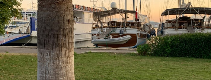 Bodrum Yat Limanı is one of zekiyeさんのお気に入りスポット.