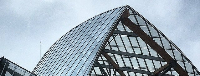 Fondation Louis Vuitton is one of Paris.