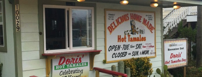 Doris' Hot Tamales is one of Gulf Coast.