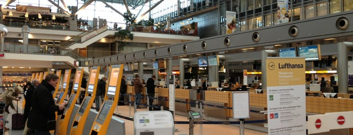 Hamburg Airport Helmut Schmidt (HAM) is one of Official airport venues.