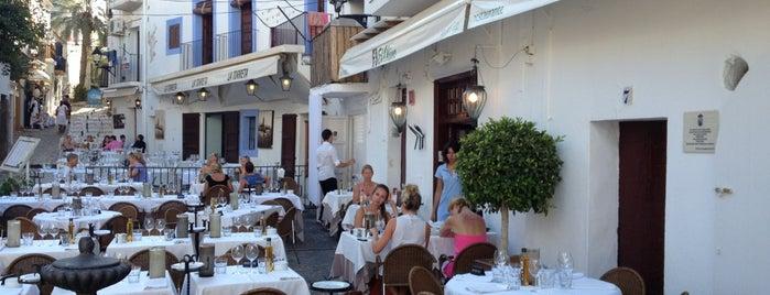 Restaurante El Olivo is one of Ibiza, baby!.