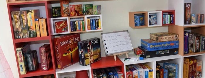 Playstories is one of Board Game Cafe 2.