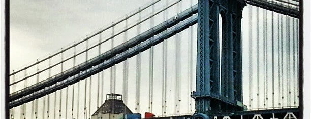 Puente de Manhattan is one of Architecture - Great architectural experiences NYC.