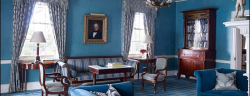 Gracie Mansion is one of places to go to.