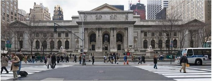 New York Public Library is one of #NYCMustSee4sq Contest Winner List by Samman.
