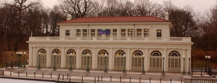Boathouse & Audubon Center is one of NYC.