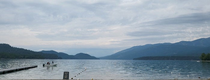 Whitefish City Beach is one of PNW Road Trip.