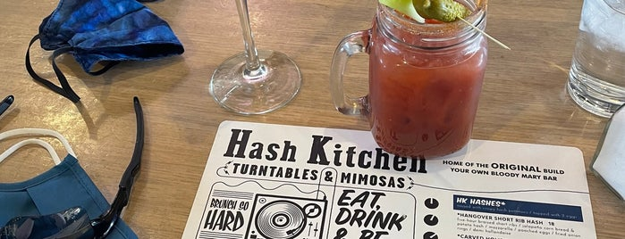 The Hash Kitchen is one of Phx Try.