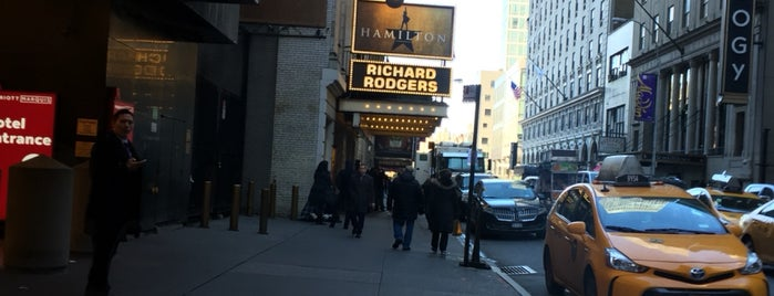 Richard Rodgers Theatre is one of Locais curtidos por Anna.