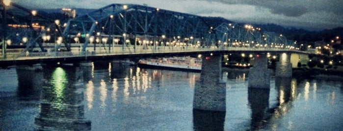 Walnut Street Bridge is one of Chattanooga.