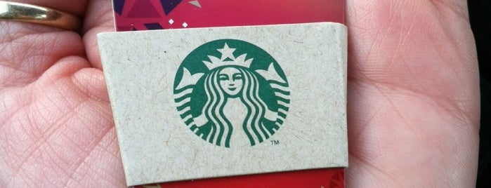 Starbucks is one of สถานที่ที่ anthony ถูกใจ.