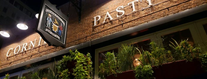 Cornish Pasty Co is one of To Try.